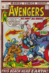 Cover Thumbnail for The Avengers (1963 series) #93 [British Price Variant]