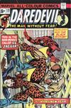 Cover for Daredevil (Marvel, 1964 series) #120 [British Price Variant]