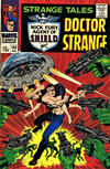 Cover for Strange Tales (Marvel, 1951 series) #153 [British Price Variant]