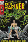 Cover for Sub-Mariner (Marvel, 1968 series) #13 [British Price Variant]