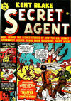 Cover for Kent Blake Secret Agent (Bell Features, 1951 series) #26