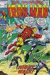 Cover Thumbnail for Iron Man (1968 series) #40 [British Price Variant]