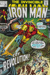 Cover for Iron Man (Marvel, 1968 series) #29 [British Price Variant]