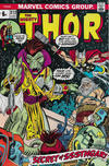 Cover for Thor (Marvel, 1966 series) #212 [British Price Variant]