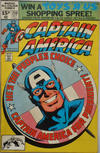Cover for Captain America (Marvel, 1968 series) #250 [British]