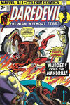 Cover Thumbnail for Daredevil (1964 series) #112 [British Price Variant]