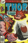 Cover for Thor (Marvel, 1966 series) #281 [British Price Variant]
