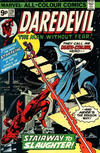 Cover Thumbnail for Daredevil (1964 series) #128 [British Price Variant]