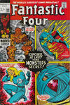 Cover for Fantastic Four (Marvel, 1961 series) #106 [British Price Variant]