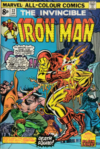 Cover for Iron Man (Marvel, 1968 series) #72 [Regular Edition]