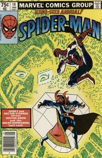 Cover Thumbnail for The Amazing Spider-Man Annual (Marvel, 1964 series) #14 [Newsstand]