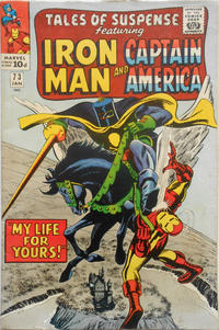 Cover for Tales of Suspense (Marvel, 1959 series) #73 [Regular Edition]