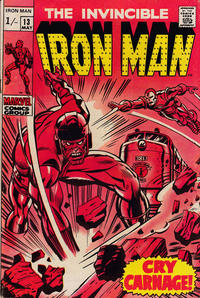 Cover Thumbnail for Iron Man (Marvel, 1968 series) #13 [British]