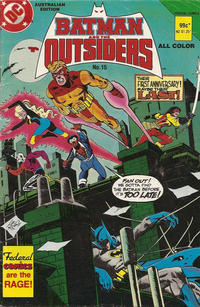 Cover Thumbnail for Batman and the Outsiders (Federal, 1984 series) #15