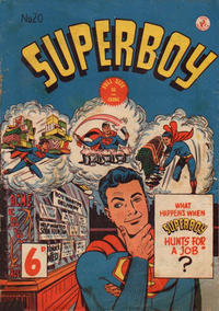 Cover Thumbnail for Superboy (K. G. Murray, 1949 series) #20