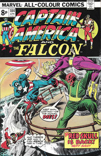 Cover Thumbnail for Captain America (Marvel, 1968 series) #184 [British]