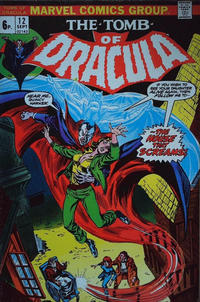 Cover Thumbnail for Tomb of Dracula (Marvel, 1972 series) #12 [British]