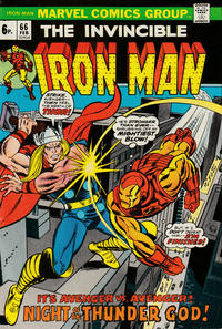 Cover for Iron Man (Marvel, 1968 series) #66 [Regular Edition]