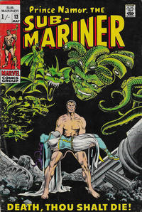 Cover Thumbnail for Sub-Mariner (Marvel, 1968 series) #13 [British]