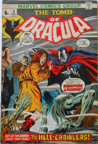 Cover Thumbnail for Tomb of Dracula (Marvel, 1972 series) #8 [British]