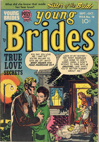 Cover Thumbnail for Young Brides (Prize, 1952 series) #v2#12 (18)