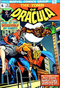 Cover Thumbnail for Tomb of Dracula (Marvel, 1972 series) #18 [British]