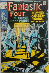 Cover Thumbnail for Fantastic Four (Marvel, 1961 series) #87 [British]