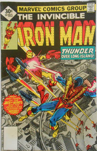 Cover for Iron Man (Marvel, 1968 series) #103 [30¢ Cover Price]