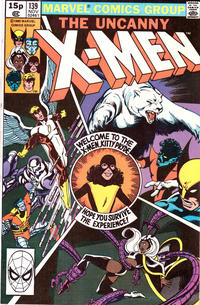 Cover for The X-Men (Marvel, 1963 series) #139 [Newsstand Edition]