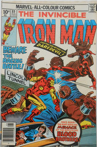 Cover for Iron Man (Marvel, 1968 series) #89 [Regular Edition]