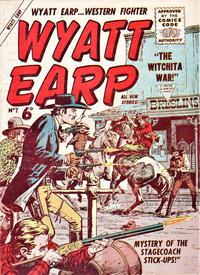 Cover Thumbnail for Wyatt Earp (L. Miller & Son, 1957 series) #7