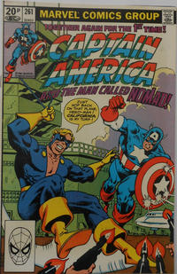 Cover Thumbnail for Captain America (Marvel, 1968 series) #261 [British]