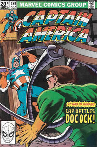Cover Thumbnail for Captain America (Marvel, 1968 series) #259 [British]