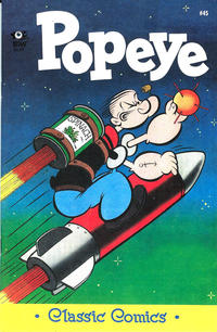 Cover Thumbnail for Classic Popeye (IDW, 2012 series) #45