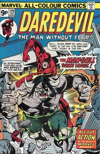 Cover Thumbnail for Daredevil (Marvel, 1964 series) #129 [British]