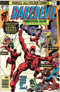 Cover Thumbnail for Daredevil (Marvel, 1964 series) #139 [British]