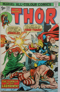 Cover Thumbnail for Thor (Marvel, 1966 series) #235 [British]