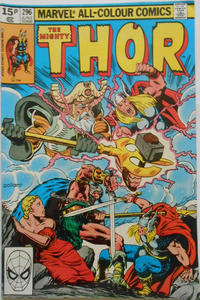 Cover Thumbnail for Thor (Marvel, 1966 series) #296 [British]
