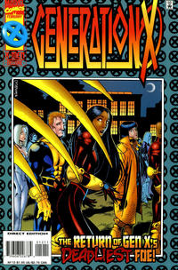 Cover Thumbnail for Generation X (Marvel, 1994 series) #12 [Direct Edition]