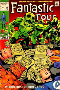 Cover Thumbnail for Fantastic Four (Marvel, 1961 series) #85 [British]