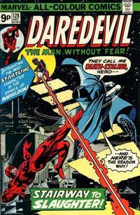 Cover Thumbnail for Daredevil (Marvel, 1964 series) #128 [British]