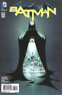 Cover for Batman (DC, 2011 series) #51 [John Romita Jr. Cover]
