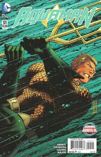 Cover Thumbnail for Aquaman (DC, 2011 series) #51 [John Romita Jr. Cover]