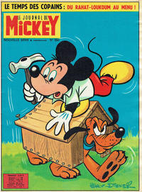 Cover Thumbnail for Le Journal de Mickey (Disney Hachette Presse, 1952 series) #590