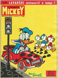 Cover Thumbnail for Le Journal de Mickey (Disney Hachette Presse, 1952 series) #589