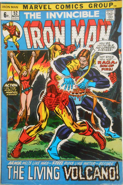 Cover for Iron Man (Marvel, 1968 series) #52 [Regular Edition]