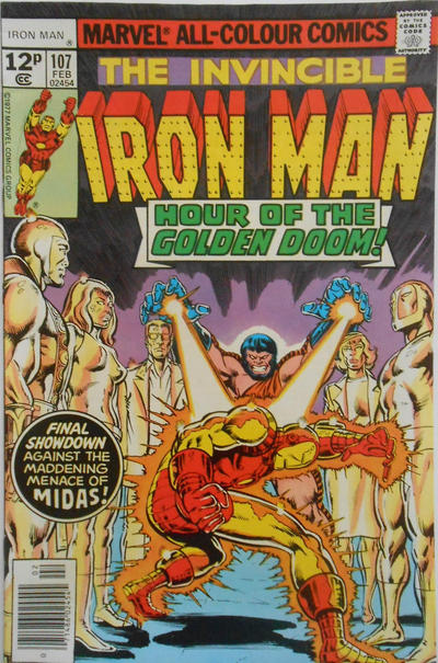 Cover for Iron Man (Marvel, 1968 series) #107 [Regular Edition]