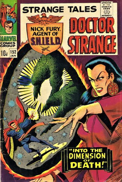 Cover for Strange Tales (Marvel, 1951 series) #152 [Regular Edition]