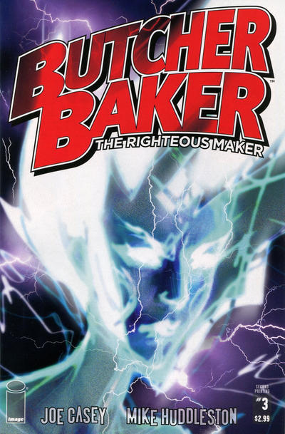 Cover for Butcher Baker, the Righteous Maker (Image, 2011 series) #3