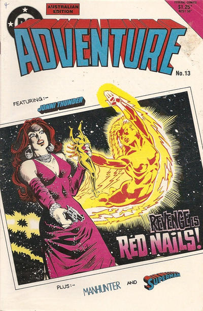 Cover for Adventure (Federal, 1983 series) #13